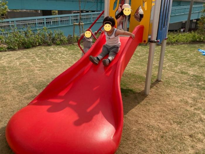 みやっこキッズダム小さい子用の遊具